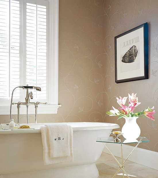 what a romantic looking bathroom simple bathtub with vintage looking fixtures and java