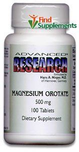 Dr. Hans Nieper Magnesium Orotate - 500 mg - 100 Tabs -- Click on the image for additional details.