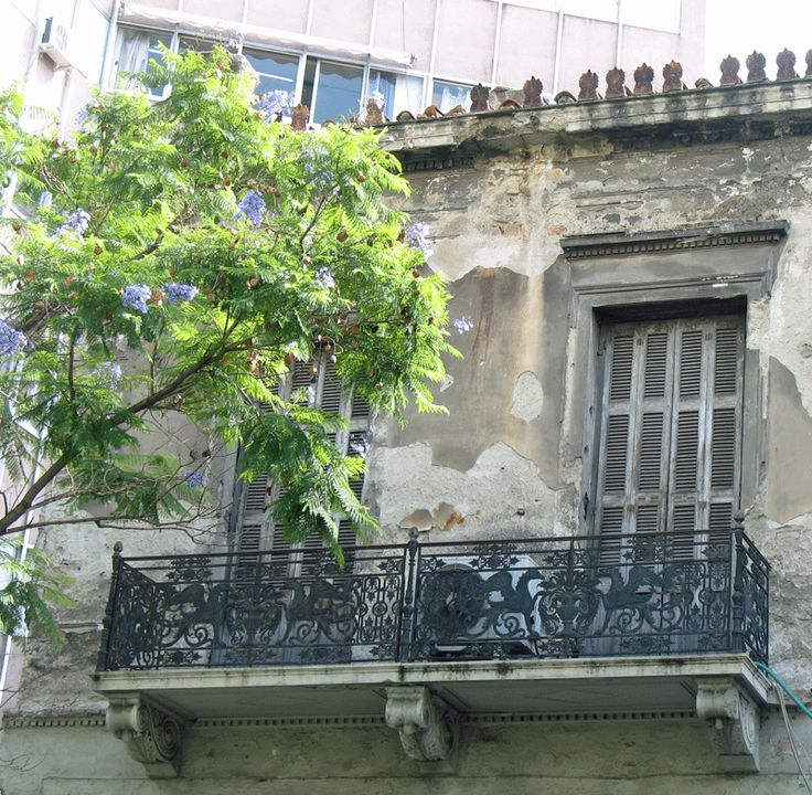 Neoclassical building in central Athens