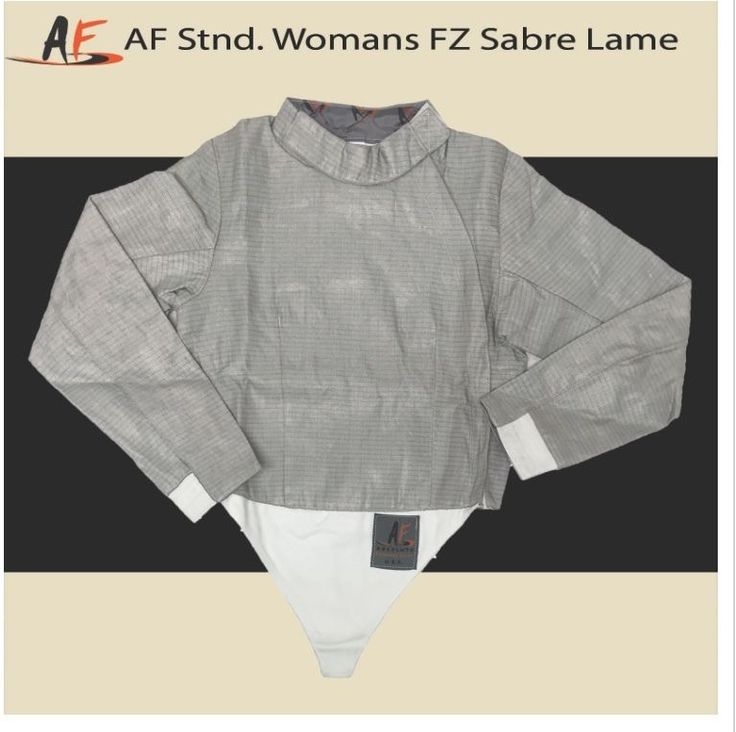 Fencing 47322: Absolute Women S F Zip Sabre Lame Size 44 Right Hand Sabre Fencing Equipment -> BUY IT NOW ONLY: $60 on eBay!