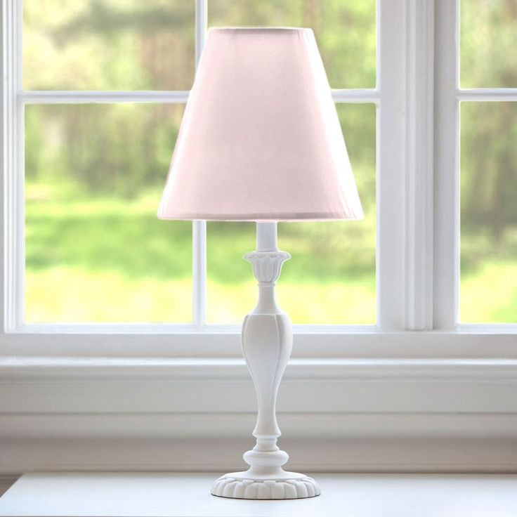 Solid Pink Lamp Shade #carouseldesigns