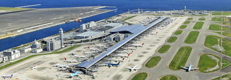 Kansai International Airport, Japan (Photo: New Kansai International Airport Co., Ltd.)