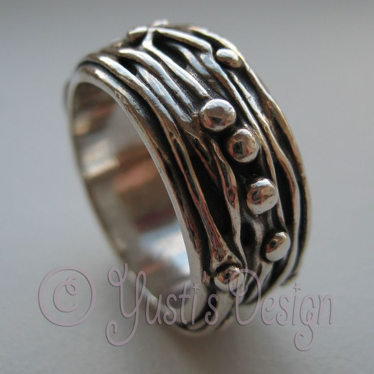 Zilverklei Ring | Silver Clay Ring