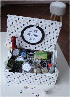 Notfall-Box - Wenn-Geschenk zum Geburtstag