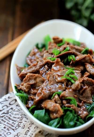 Oyster Beef with Chinese Broccoli- Halal Chinese Food