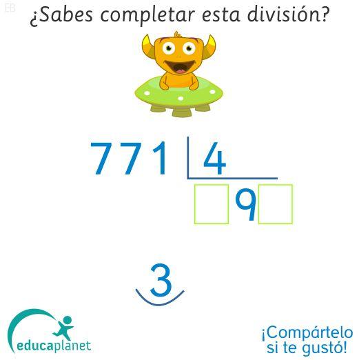 Enigma #dividir para niños y niñas de 9-10 años #Primaria #curiosidades #dividir #matemáticas #acertijos #niños