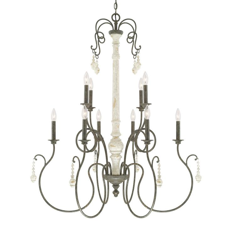Classic French Country Chandelier- Large - Shades of Light