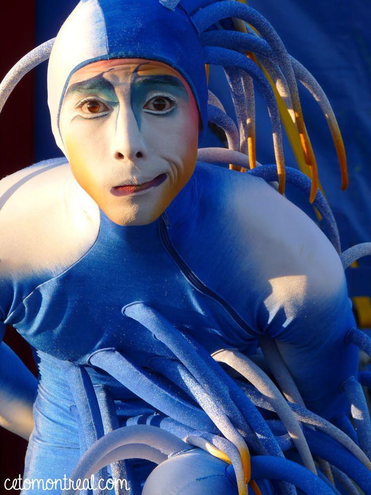 Assister à un spectacle du cirque du soleil à Montréal