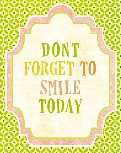 Met je mond én met je ogen. Een glimlach kost niets, maar doet wonderen.