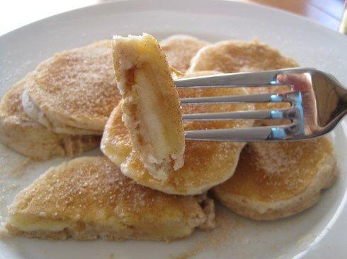 Apple Pancake Rings