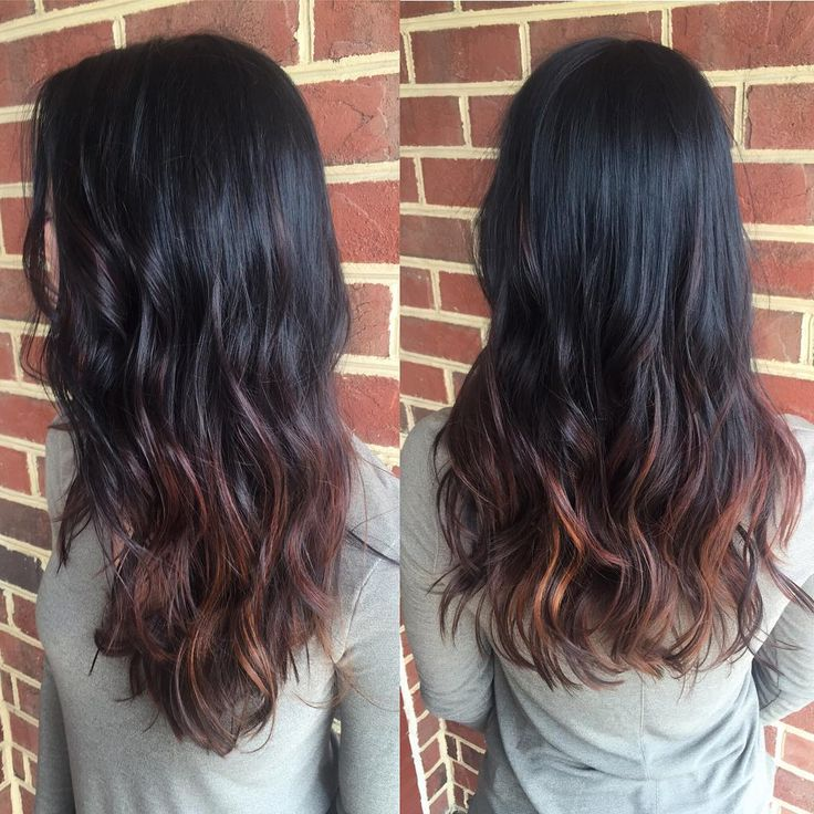 1000 ideas about dark ombre hair on pinterest dark