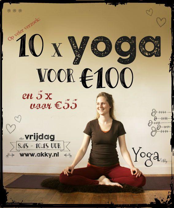 Aanmelden - Yoga met Akky