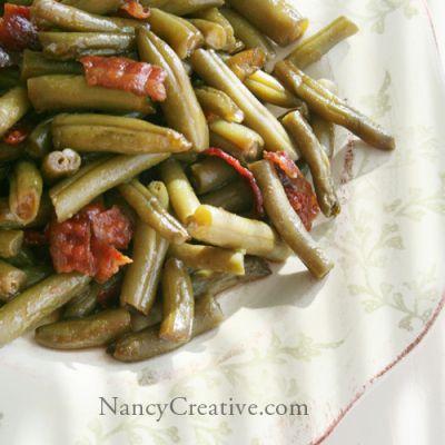 Arkansas Green Beans | NancyCreative