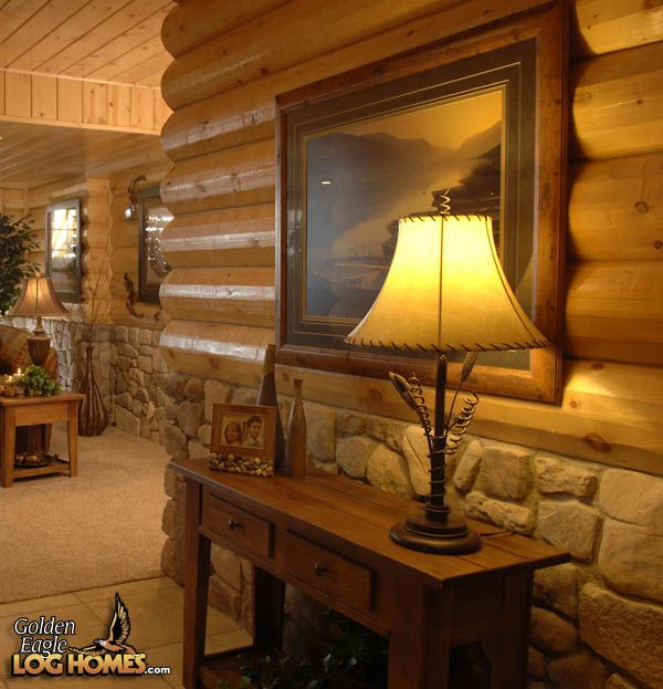 Love This Attention To Detail   Golden Eagle Logged Homes Part 63