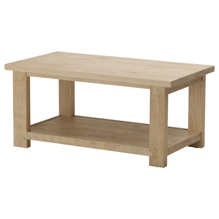 Boring and simple, might be nice to have those traits in a coffee table.  REKARNE Coffee table - IKEA