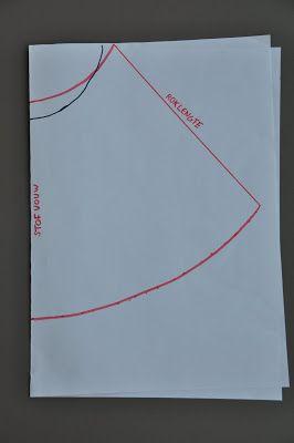 Ik maakte vorige week een hele reeks rokjes volgens één patroon. Dat patroon teken je gemakkelijk zelf.      Op de bovenstaande tekening zie...