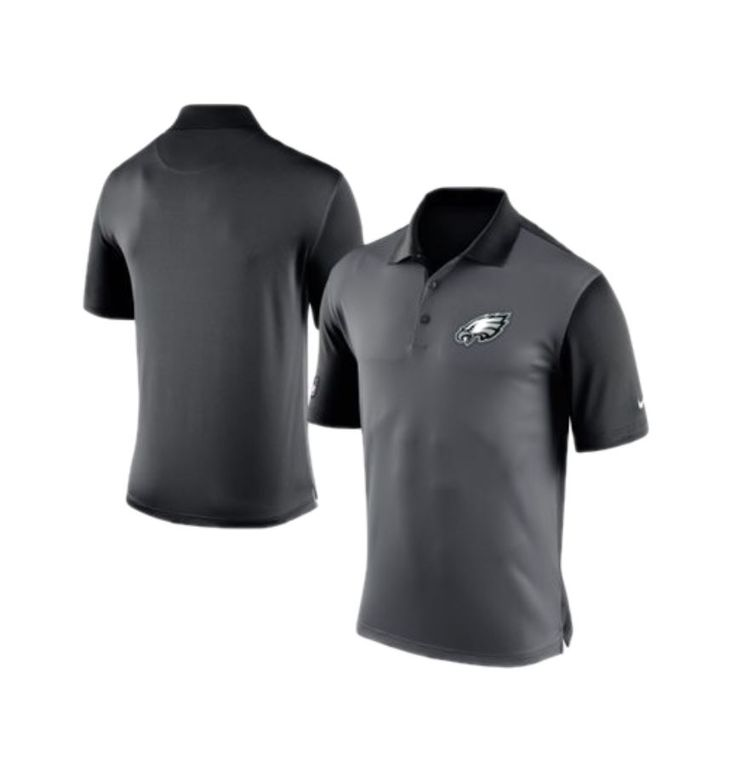 The all new Charcoal Preseason Performance Polo by Nike #FlyEaglesFly