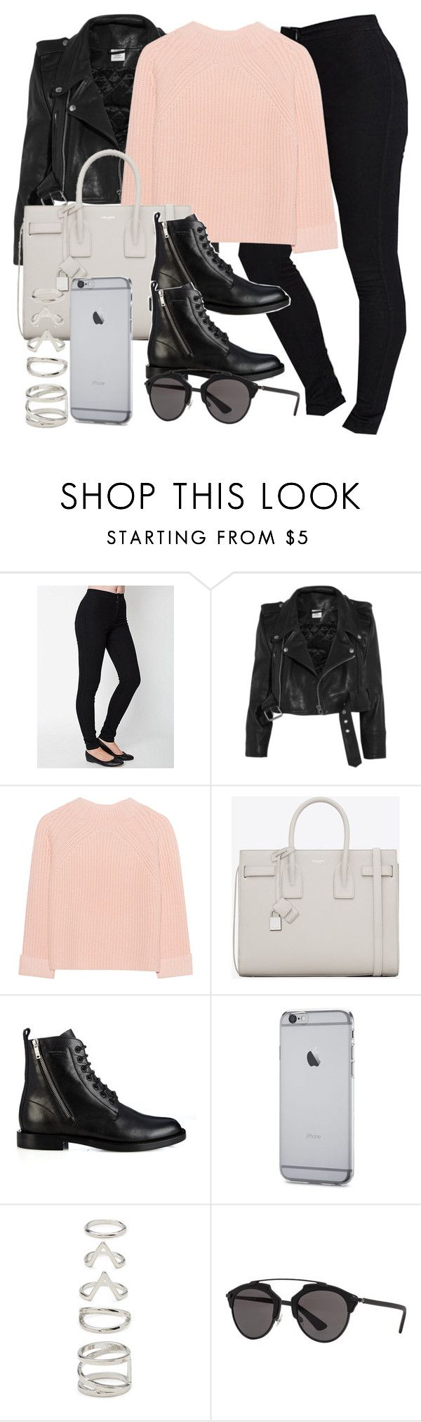 """Untitled #11883"" by vany-alvarado ❤ liked on Polyvore featuring Vetements, iHeart, Yves Saint Laurent, Forever 21 and Christian Dior"
