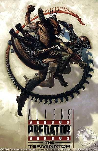 Aliens vs Predator vs the Terminator