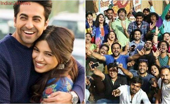 It's a wrap on Shubh Mangal Savdhaan. Ayushmann Khurrana says 'what a potent experience'