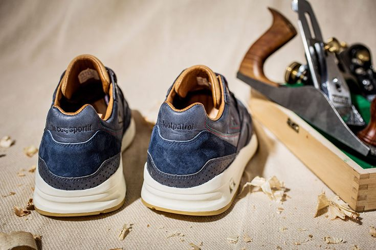 "Le Coq Sportif x Footpatrol – R800 ""Artisan"" Since introducing the 'Made in France' footwear program at the start of 2015, Le Coq Sportif began working with a small factory called Cléon, in a small village named La Romagne. This December sees Footpatrol's final collaboration for 2015, teaming up with French Sportswear brand Le Coq Sportif for a third time on this special 'Made in France' edition of the R800."