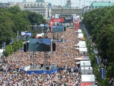Berlin's Fan Mile