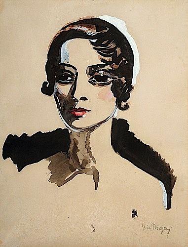 * ARLETTY, circa 1931- Kees VAN DONGEN (1877-1968)