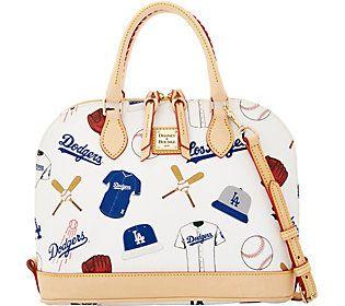 Dooney & Bourke MLB Dodgers Zip Zip Satchel