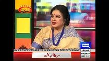 The Awesome World: Mazaaq Raat With Madam Shabnam On Dunya News 28th ...