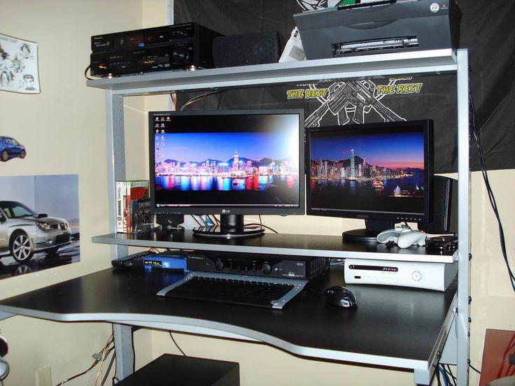 30 Best Corner Desk for Gaming - Modern Furniture Cheap Check more at http://michael-malarkey.com/best-corner-desk-for-gaming/