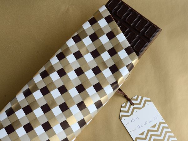 Gift wrap..perfect for the chocolate lover in your life