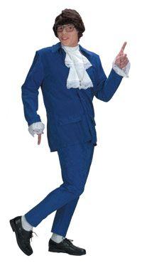 """Номера """"люкс"""" Остин Пауэрс взрослый костюм - Остин Пауэрс костюмы"""