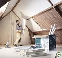 Kingspan iSoEasy Pro - isoleren én afwerken van hellende daken in één handeling ! Ideaal bij renovatie van uw zolder!