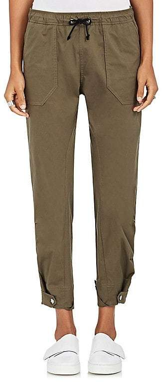 Tim Coppens Women's Drawstring-Waist Stretch-Cotton Cargo Pants