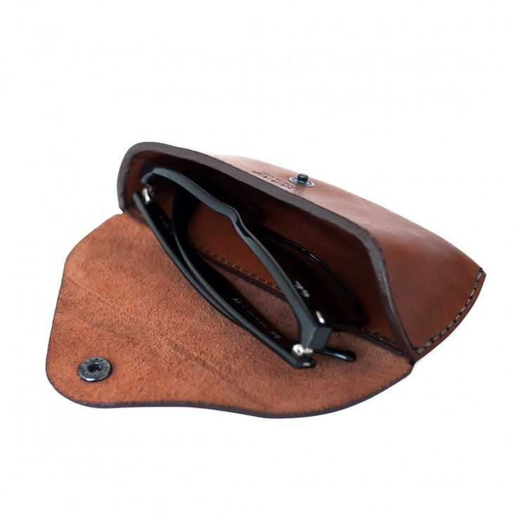 Eyewear Case Saddle Tan Horween® Leather