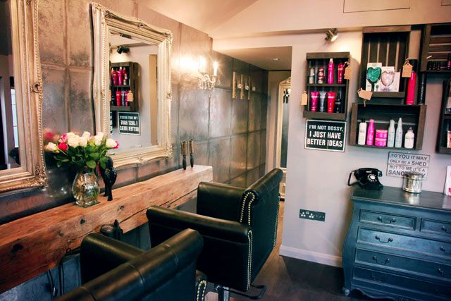 Hair News Network: The Shed Hair and Beauty: Interiors Inspiration