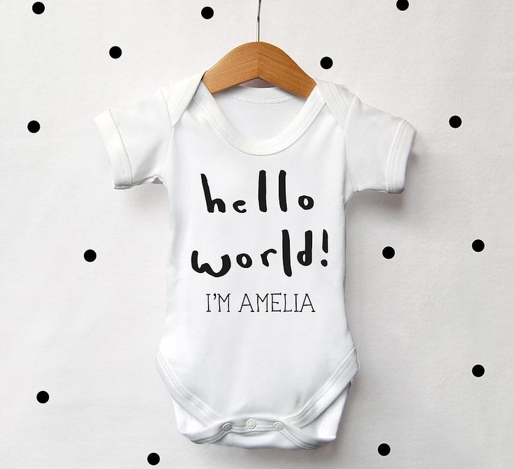 Personalised Baby Clothing, Personalised baby vests - Cows and Kisses