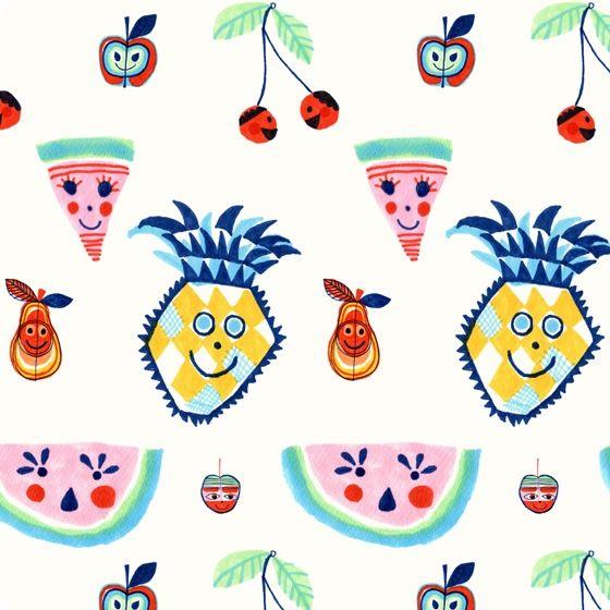 Tutti Frutti Wallpaper   Little Gatherer