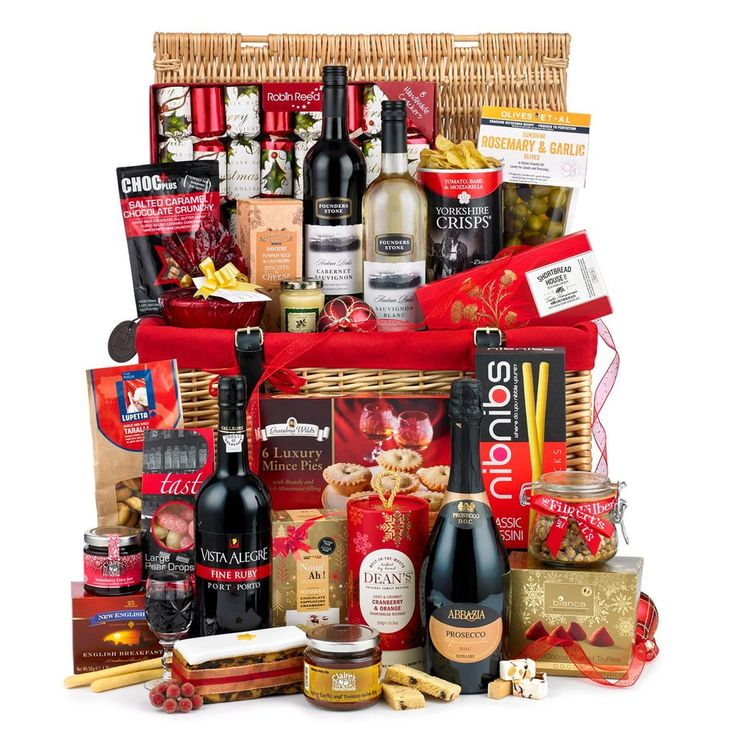 Deluxe Christmas Hamper https://harringtons-gift-store.co.uk/collections/hamper-gift-baskets-1/products/deluxe-christmas-hamper