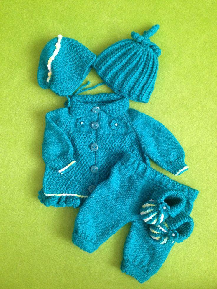 Pletený obleček na miminko.