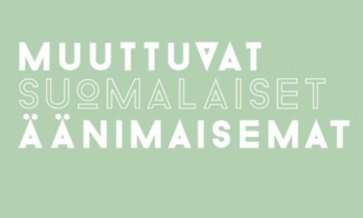 Muuttuvat suomalaiset äänimaisemat. Äänimaisemien keruukilpailu 10.10.2014–30.4.2015