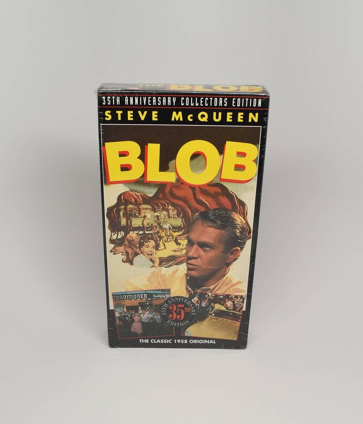 The Blob Movie ~ Brand New Never Opened VHS Movies ~ The Blob ~ Collectible VHS Movies ~ Steve McQueen Movies ~ The Blob VHS Movie ~ Movies by REDSTONEVINTAGE on Etsy