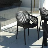 Found it at AllModern - Air Stacking Dining Arm Chair