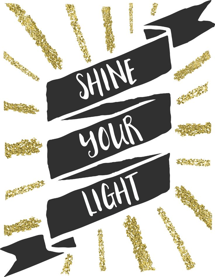 shine your light free printable art - Free Printable Art For Kids