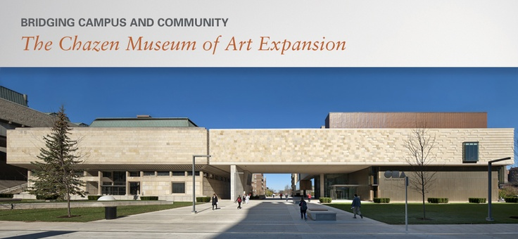 The Chazen Museum of Art is home to the second-largest collection of art in Wisconsin: more than 20,000 works include paintings, sculpture, drawings, prints, photographs, and decorative arts.