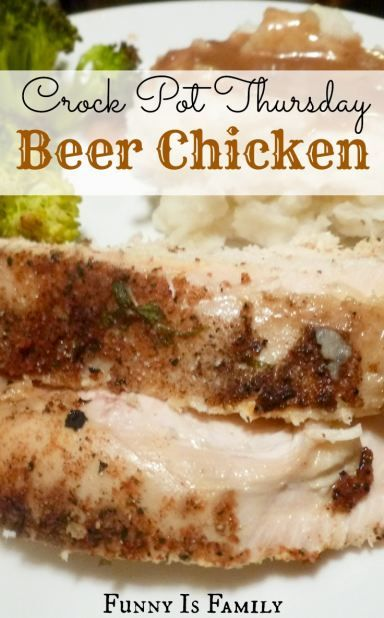 Moist and flavorful, this chicken is easy and delicious!