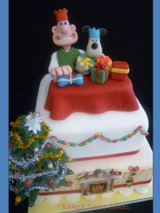 Christmas Wishes Cake Images : 104 best images about wallace and gromit on Pinterest