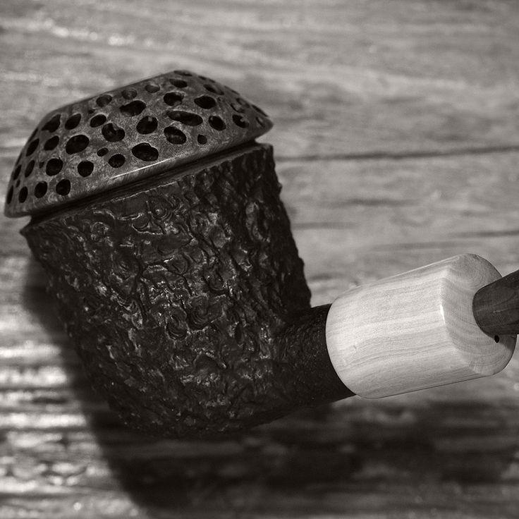 ...something oriental, work in progress freehand smoking pipe
