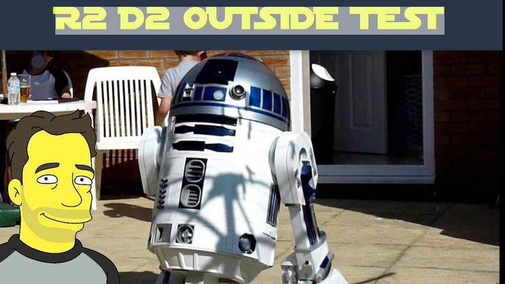 R2-D2 - Sunny day Out side test
