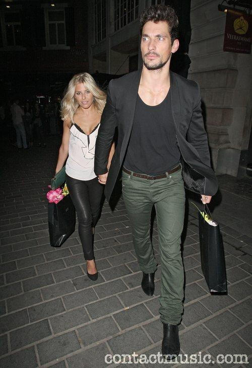 David Gandy & Mollie King - buying her flowers, could he GET any better?!?!?!